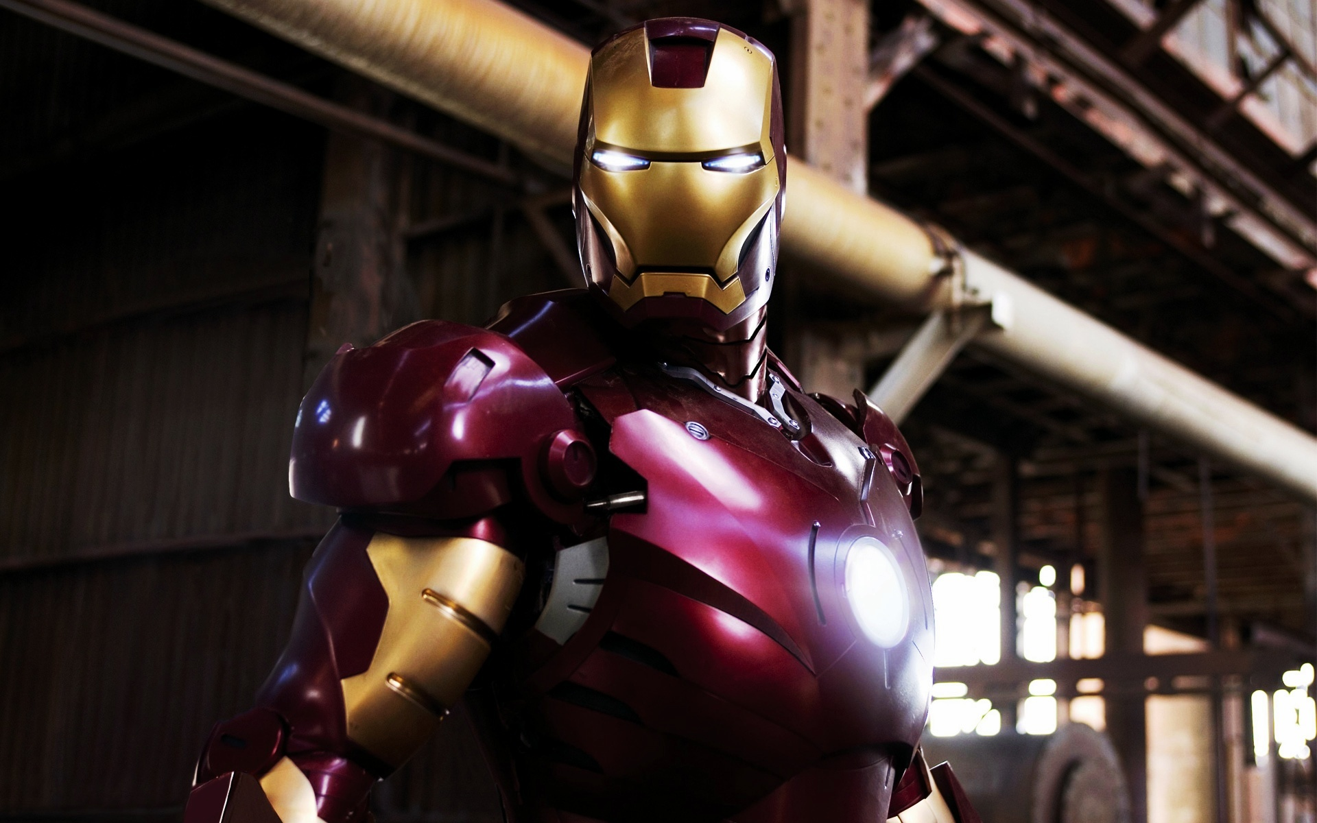 Download Wallpaper Iron Man Movie Still 1