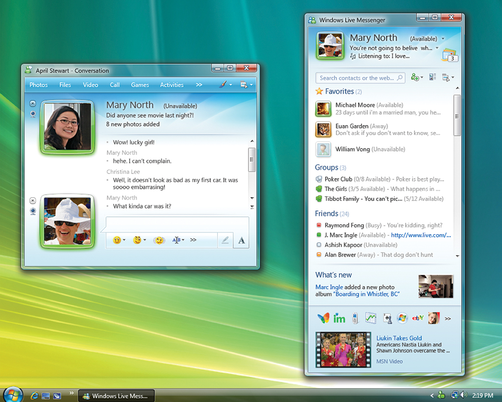 windows live chat rooms yahoo messenger for windows pc android and 17433