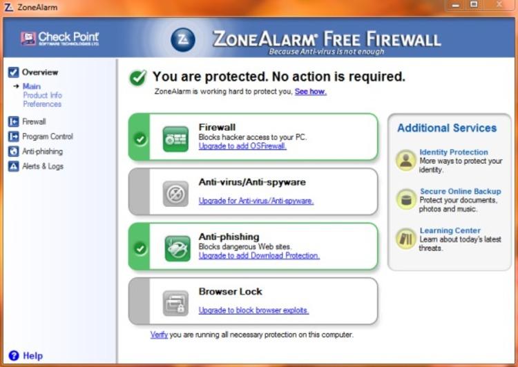 zonealarm-free