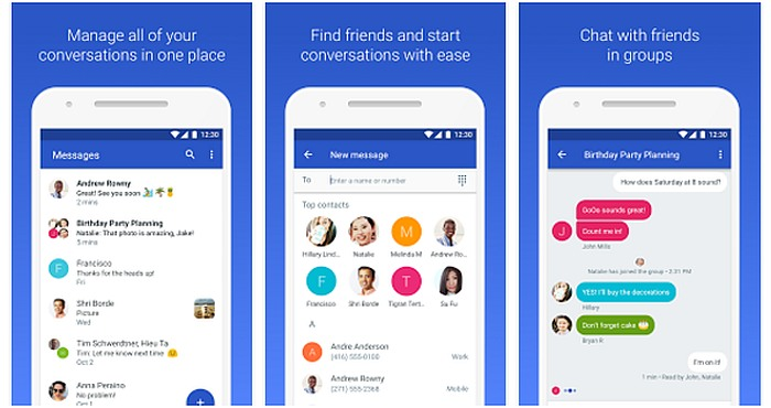 Download Google Messenger (Android Messages) for Android 1