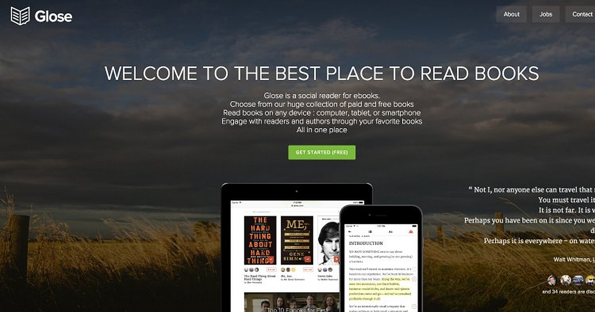 Download Glose: the social reader for ebooks 1