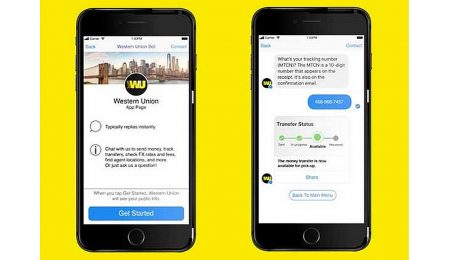 Western Union Launches a Bot for Facebook 9