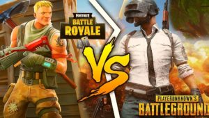 Differences between Fortnite Battle Royale and PUBG 3