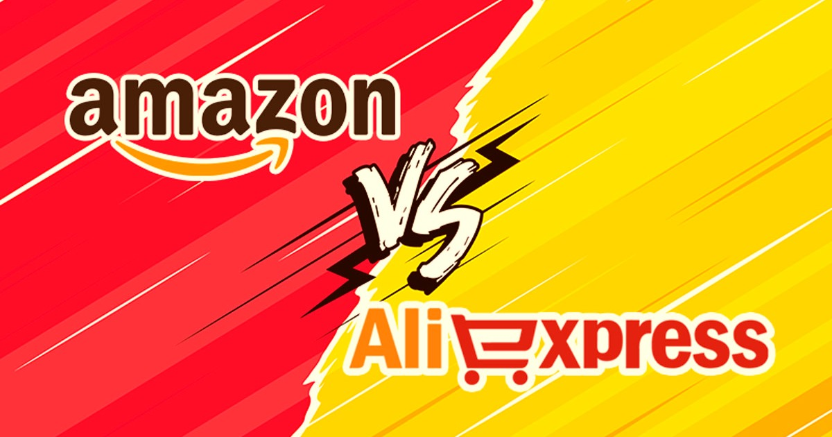 Download Aliexpress and Amazon Apps and see Which is Better 1